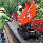 Transporting construction materials: the minidumpers that make work easier