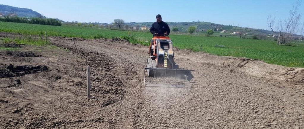 livellamento terreno agricolo